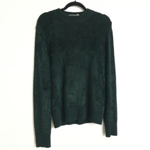Vintage Chenille Forest Green Versace Sweater